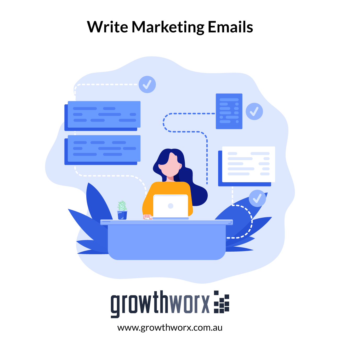 I will write marketing emails for drip email marketing campaigns 1
