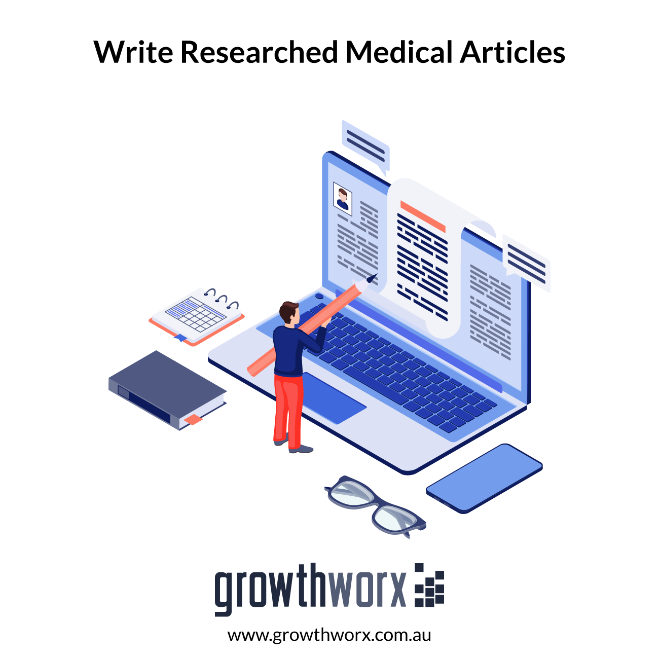 I will write researched medical articles and blogs as a doctor 1