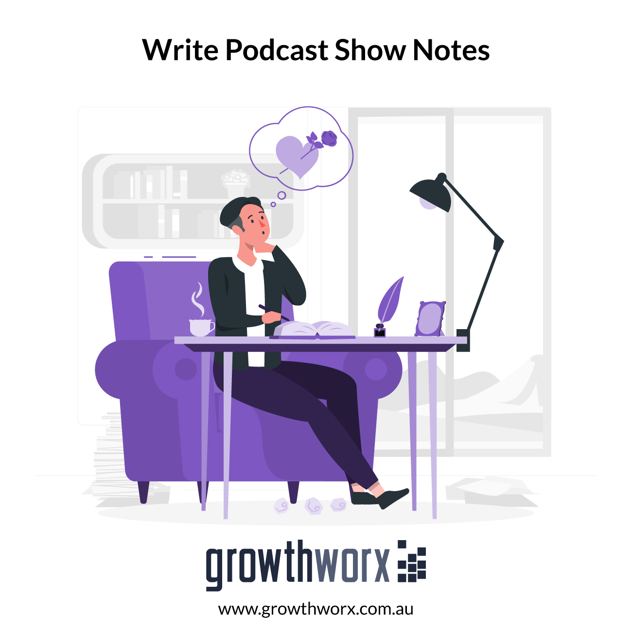 I will write your podcast show notes for you 1