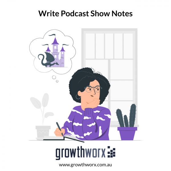 I will write your podcast show notes in less than 48 hours 1