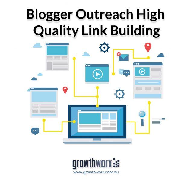 We will build SEO backlinks through blogger outreach high quality link building service 1