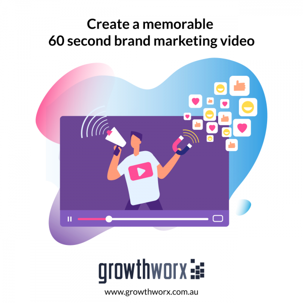 Create a memorable 60 second brand marketing video 1