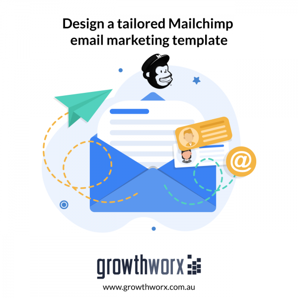 Design a tailored Mailchimp email marketing template 1