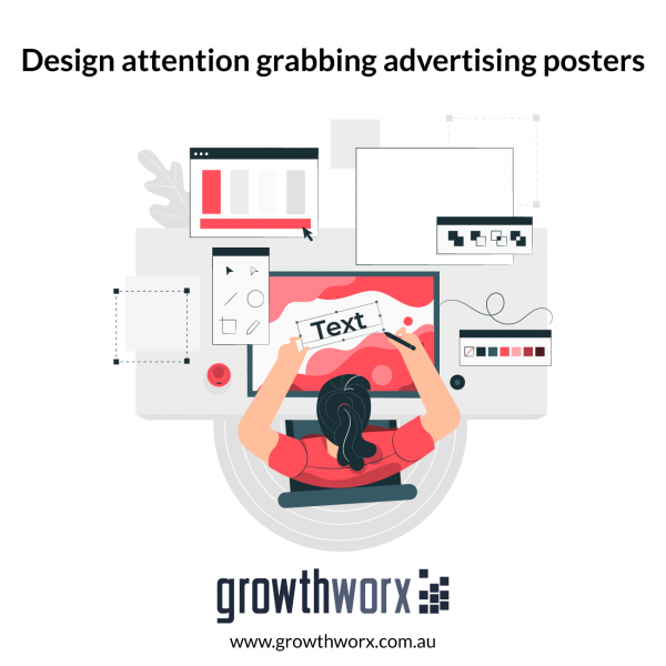 Design attention grabbing advertising posters 1