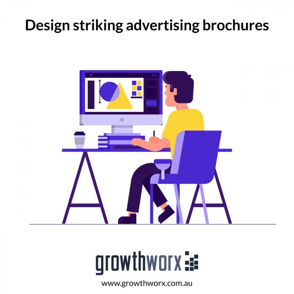 Design striking advertising brochures 1