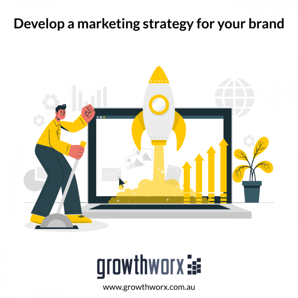 Develop a marketing strategy for your brand 1