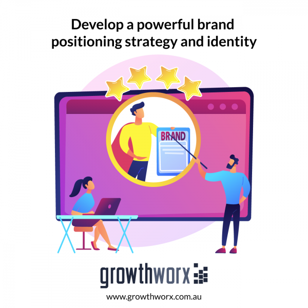 Develop a powerful brand positioning strategy and identity 1