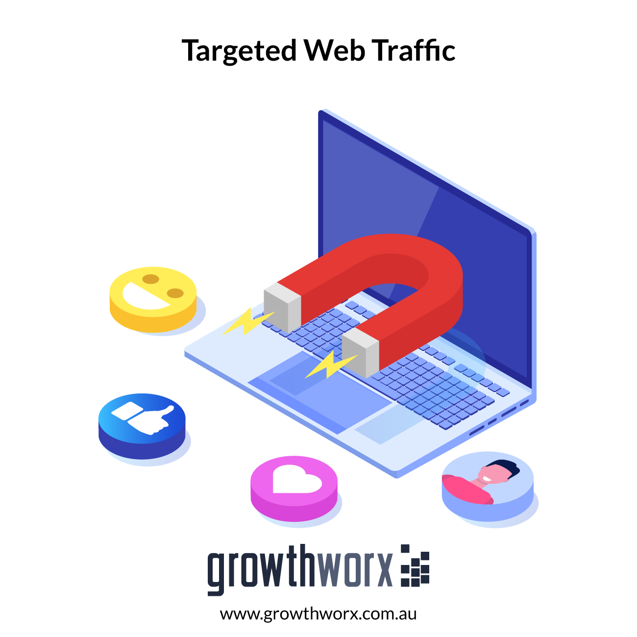 I will bring real visitors, targeted web traffic 1