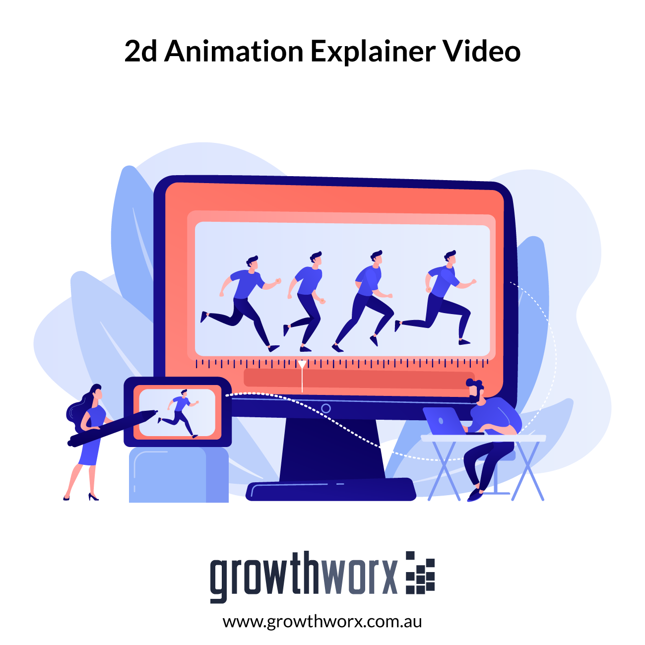 I will create 2d animation explainer video or animated marketing video ads 1