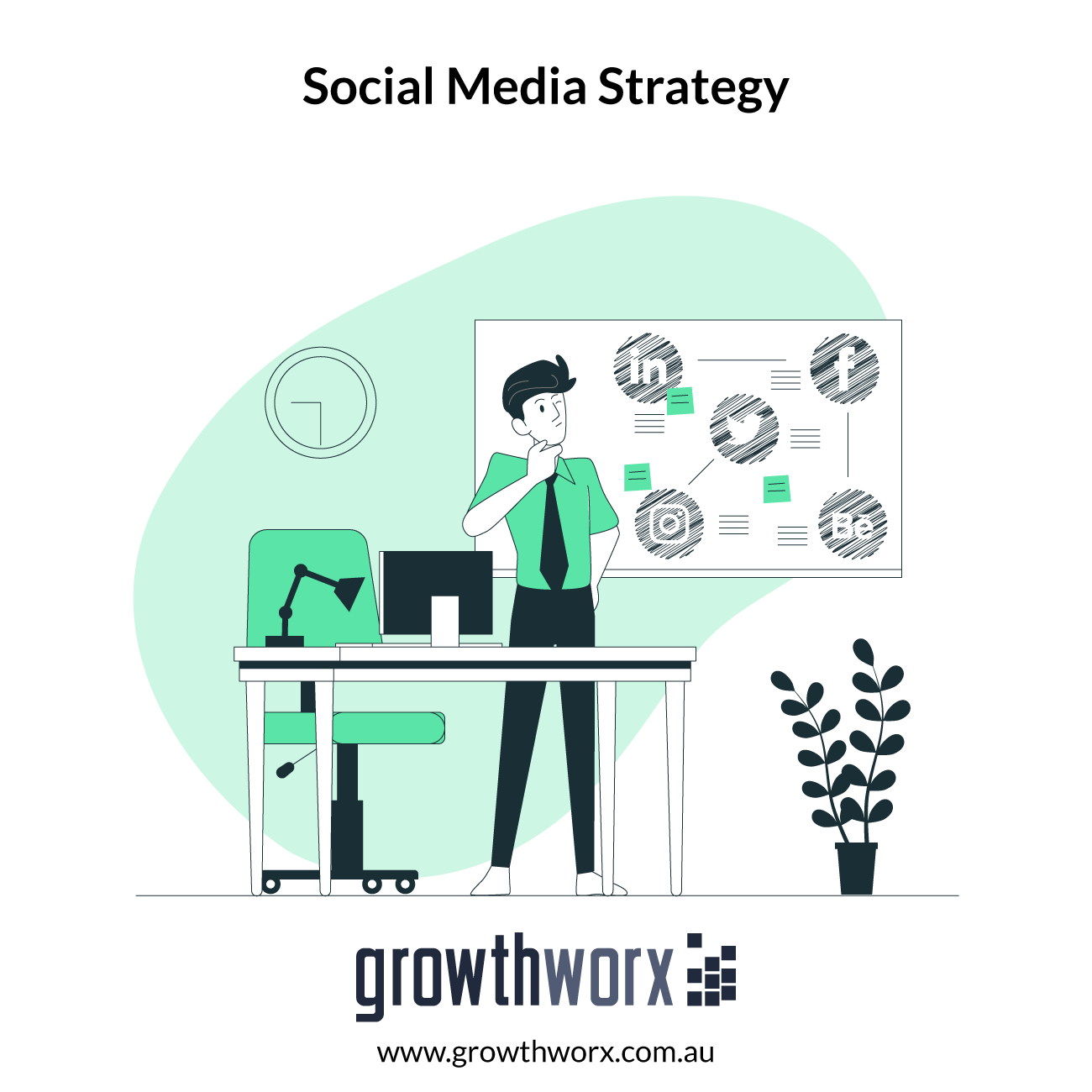 I will create a social media strategy for your brand 1