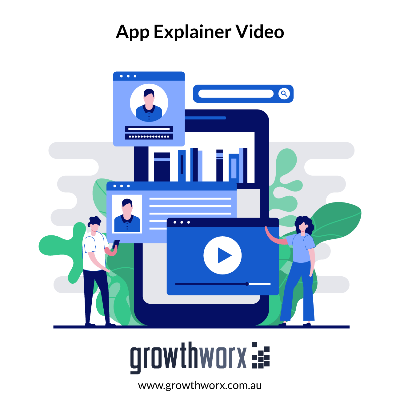 I will create app explainer video or app promo video for marketing or sales 1