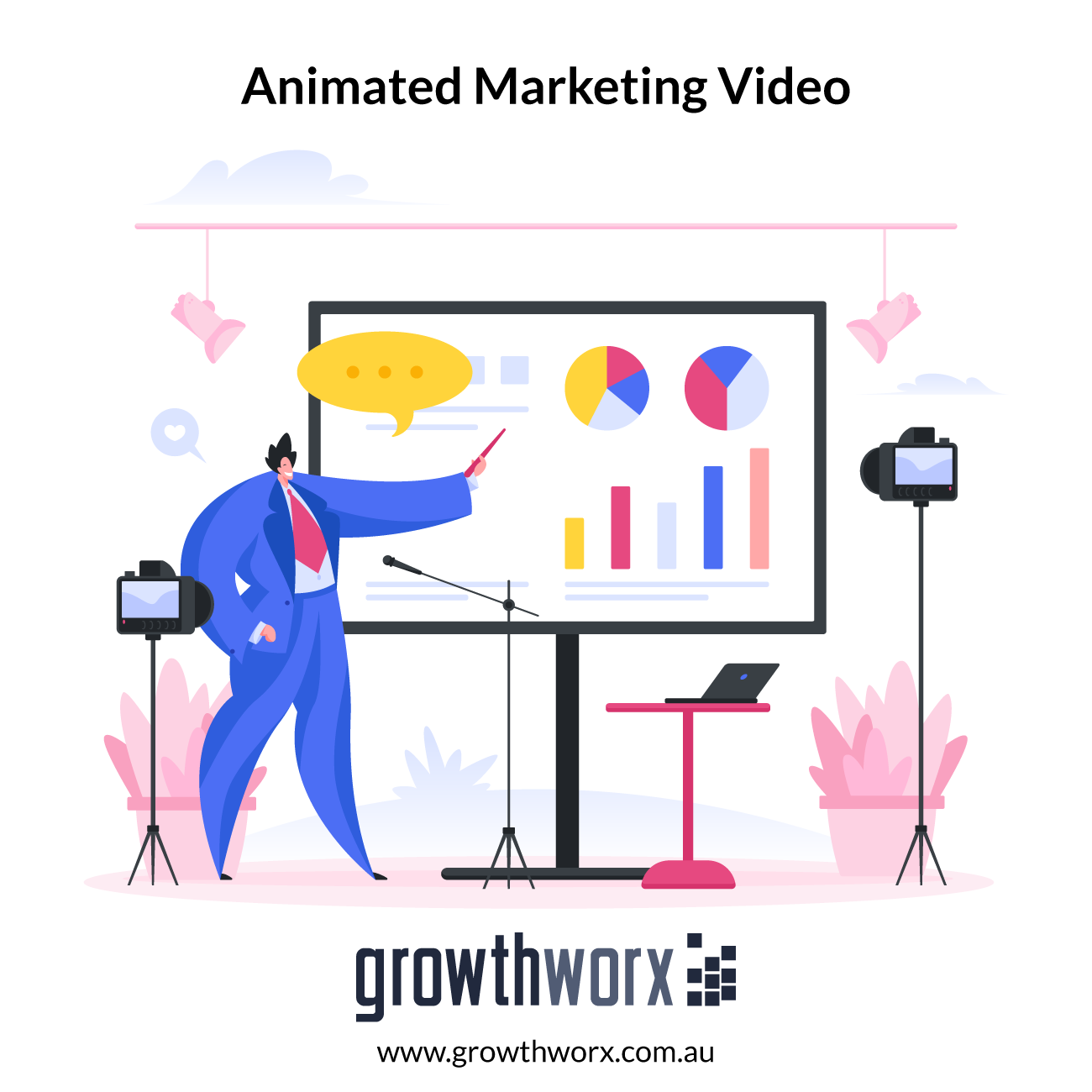 I will create awesome animated marketing video for business and sales 1