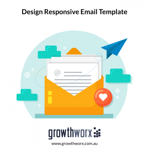 I will design responsive mailchimp email template 1