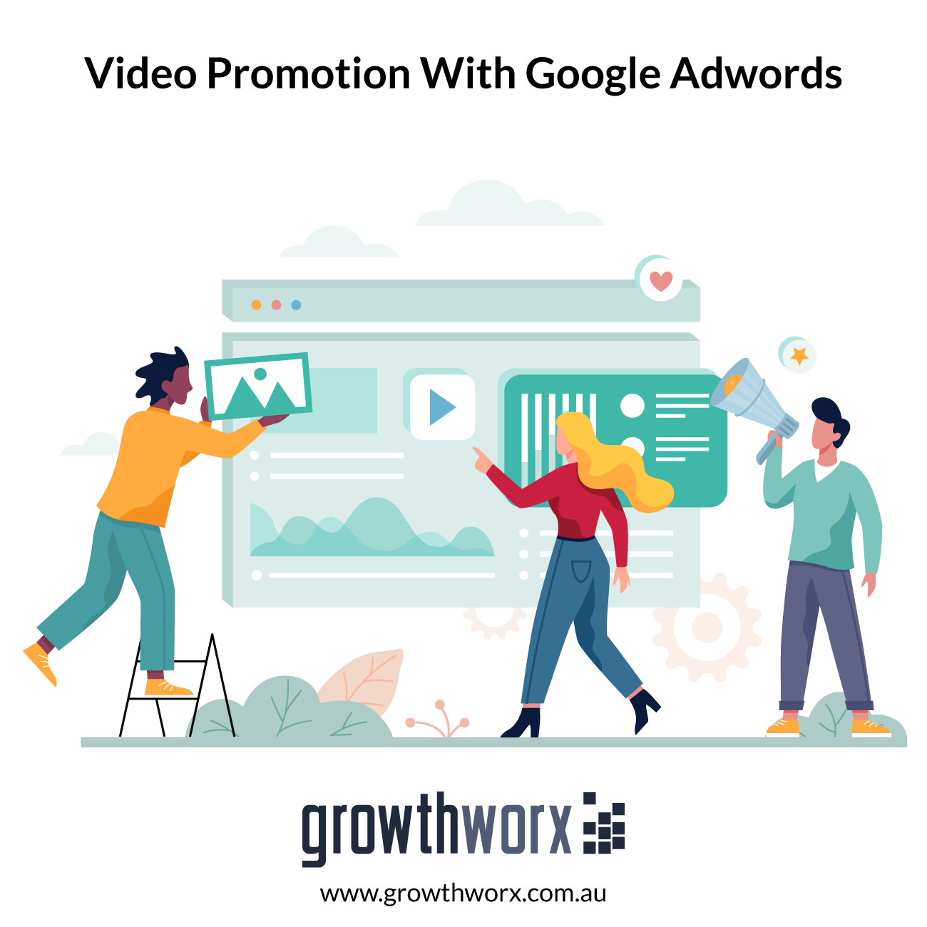 I will do organic video promotion with google adwords 1