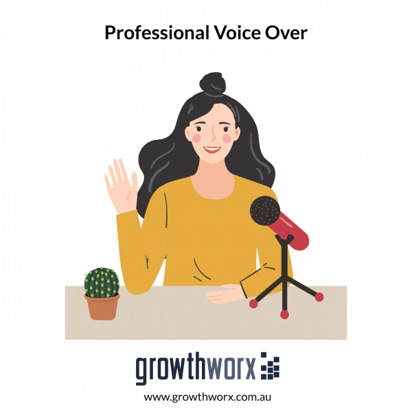 I will record any professional voice over 1