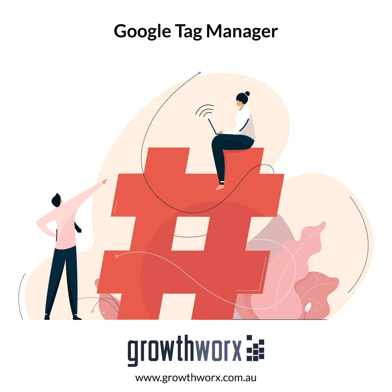 I will setup google tag manager and web analytics 1