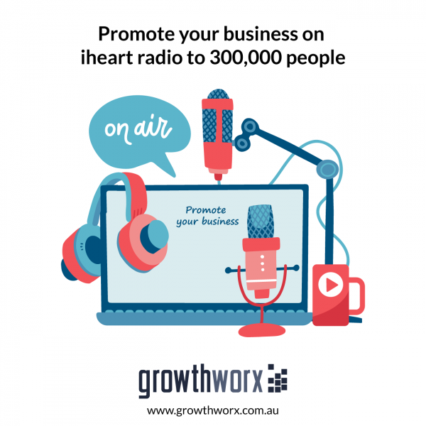Promote your business on iheart radio to 300,000 people 1