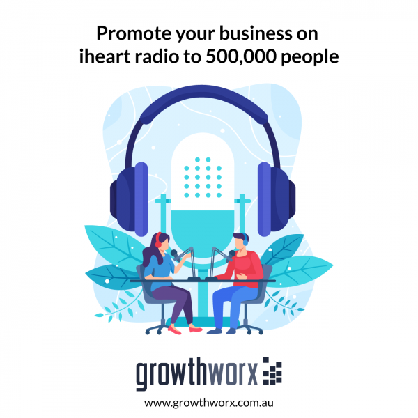 Promote your business on iheart radio to 500,000 people 1