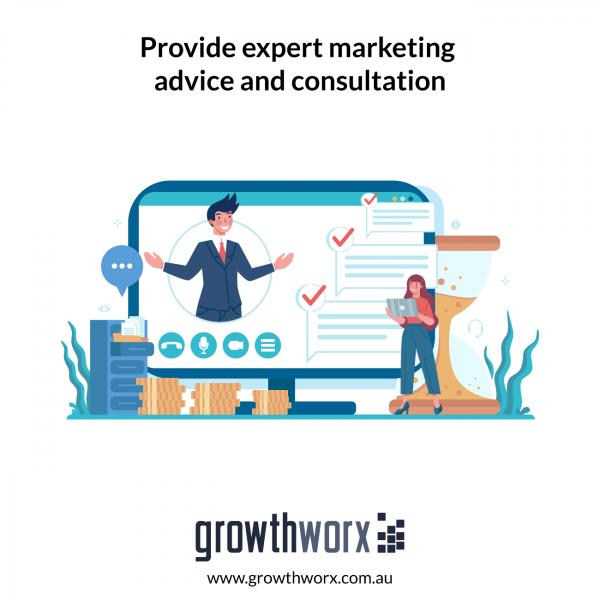 Provide expert marketing advice and consultation 1