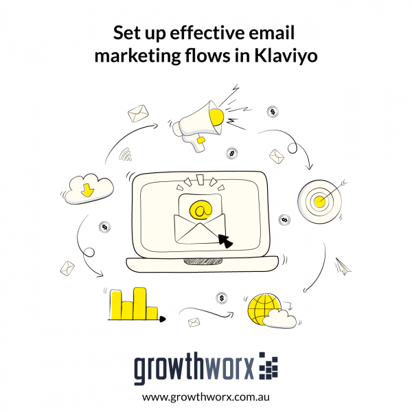 Set up effective email marketing flows in Klaviyo 1