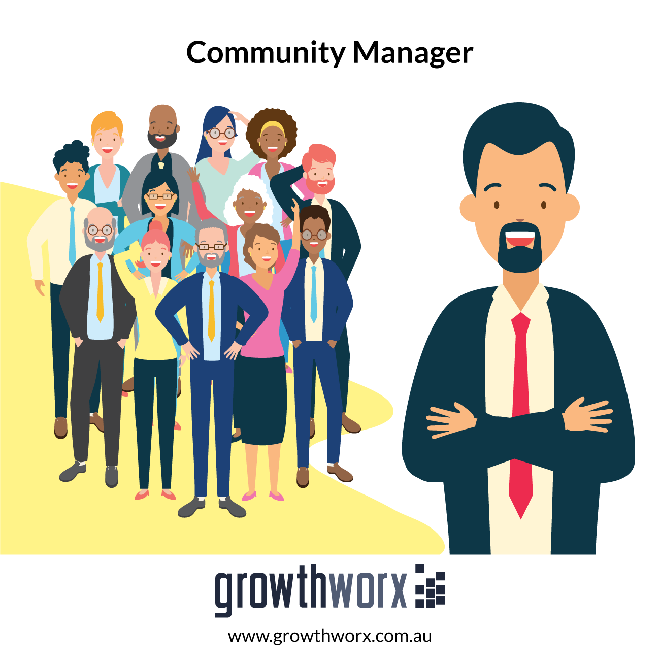 We will be your community manager for a month 1