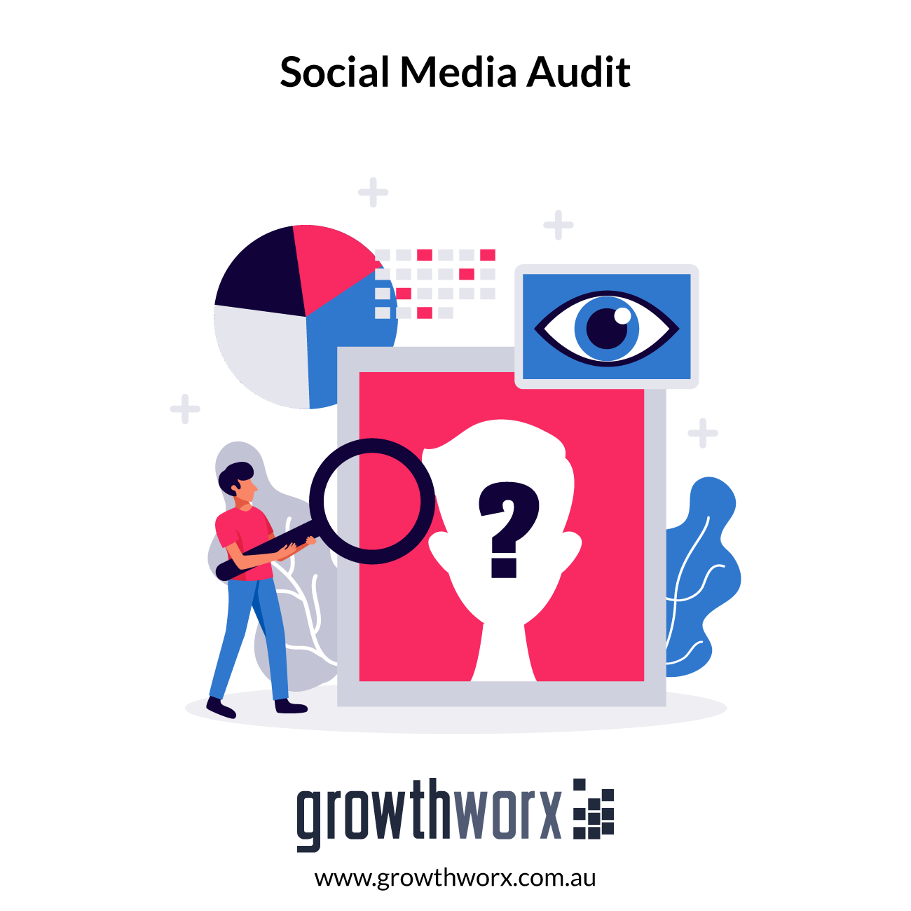 We will conduct a social media audit for your business 1