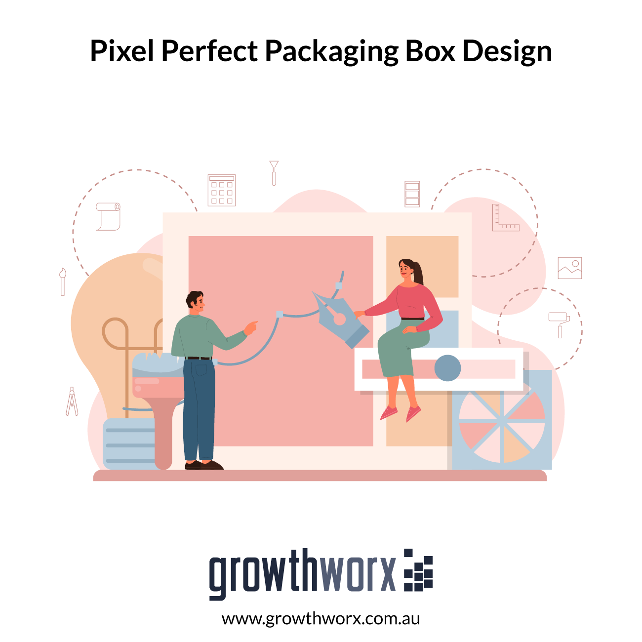 We will create a pixel perfect packaging box design with die cut 1