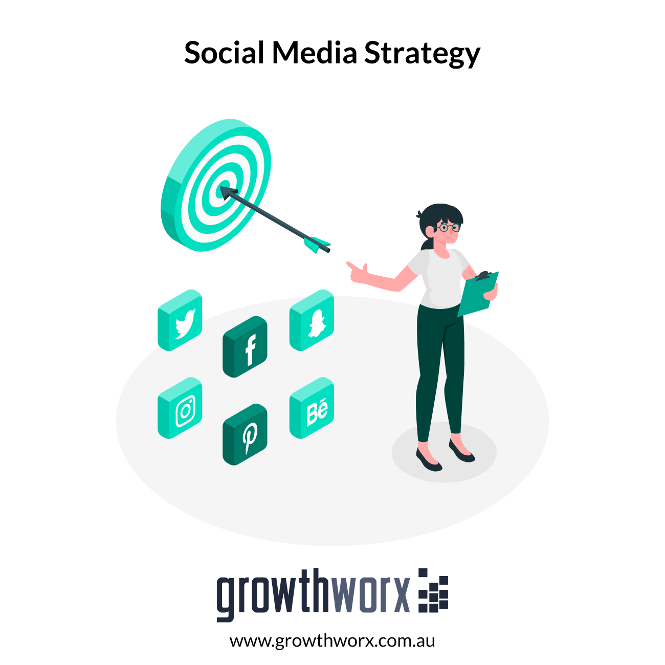 We will create a social media strategy for your company 1