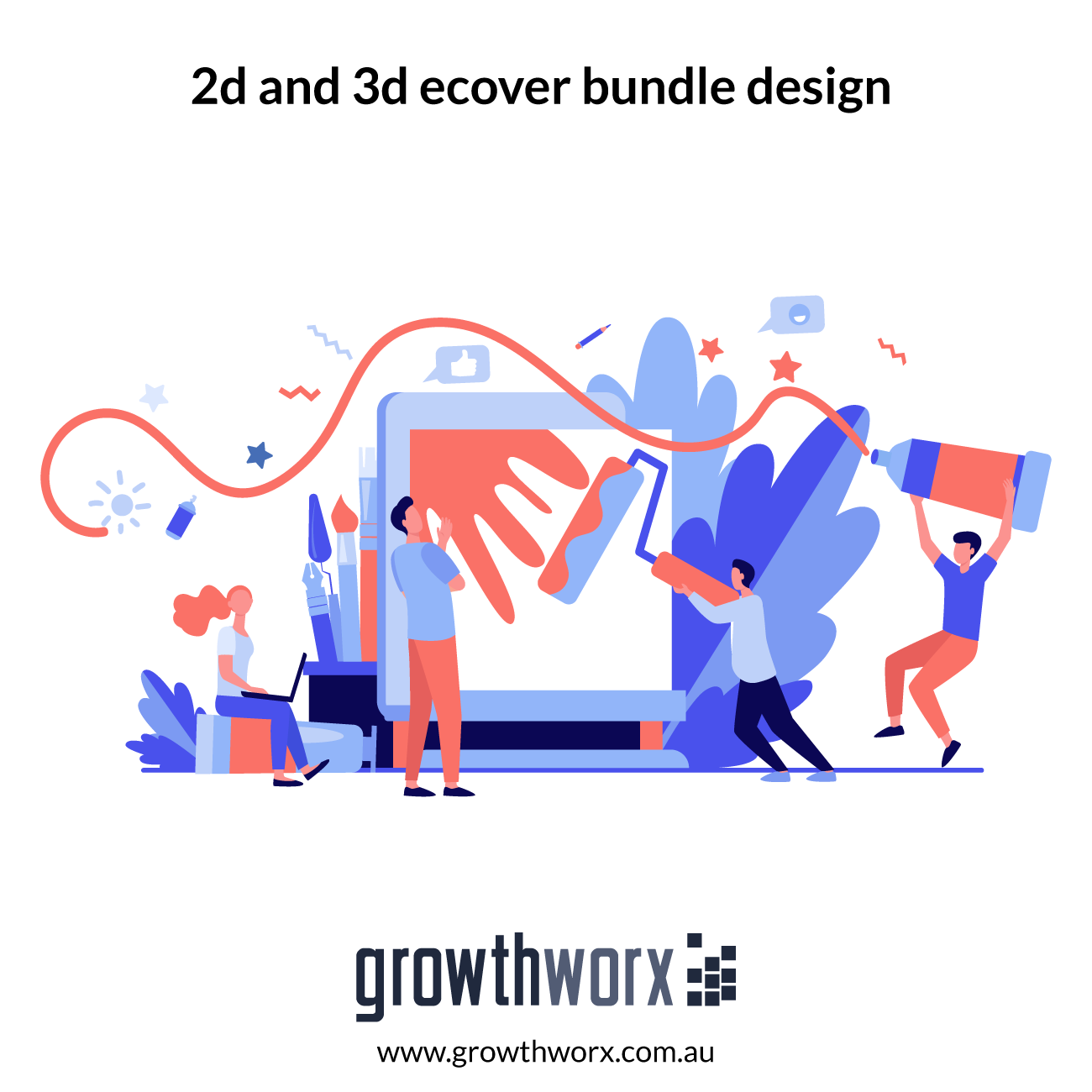 We will design 2d and 3d ecover bundle of ebook, box,dvd,cds,devices 1