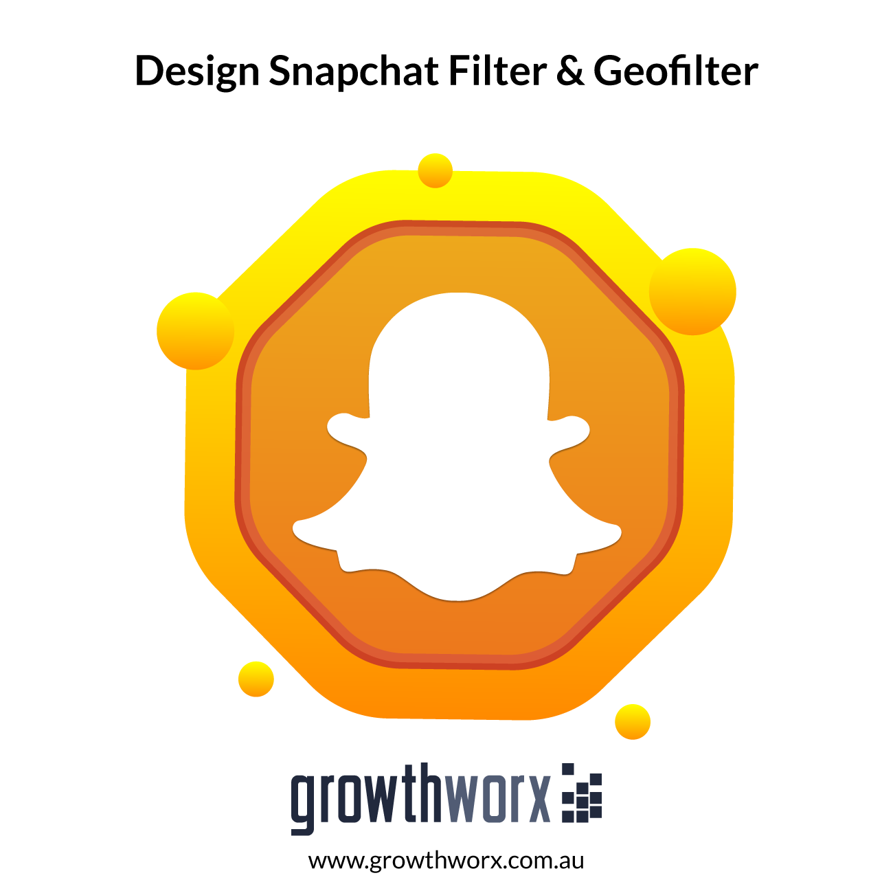 We will design a snapchat filter and geofilter for you 1