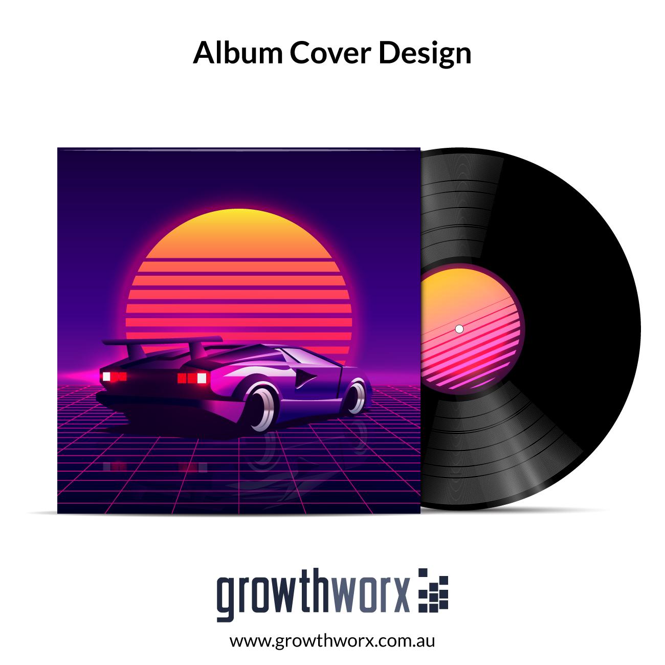 We will design amazing mixtape cover, album cover 1