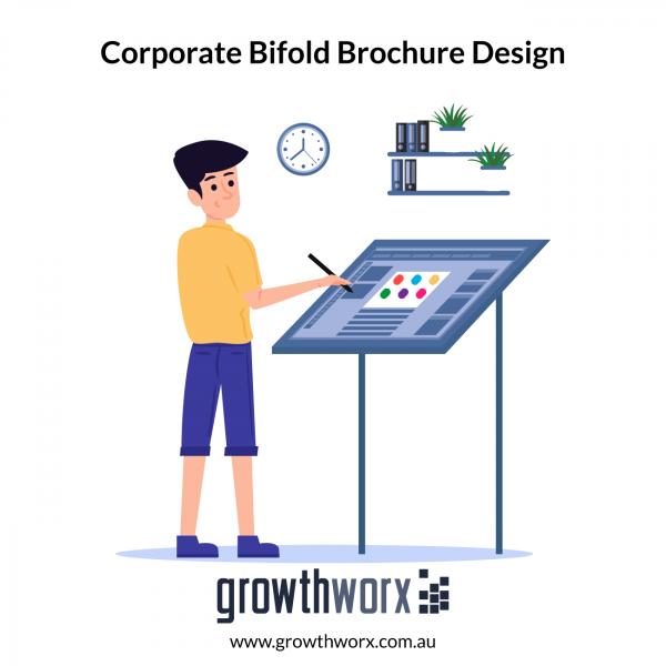 We will design your corporate bifold brochure 1
