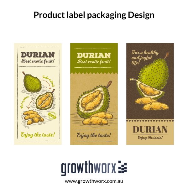 We will do product label design with product label packaging 1
