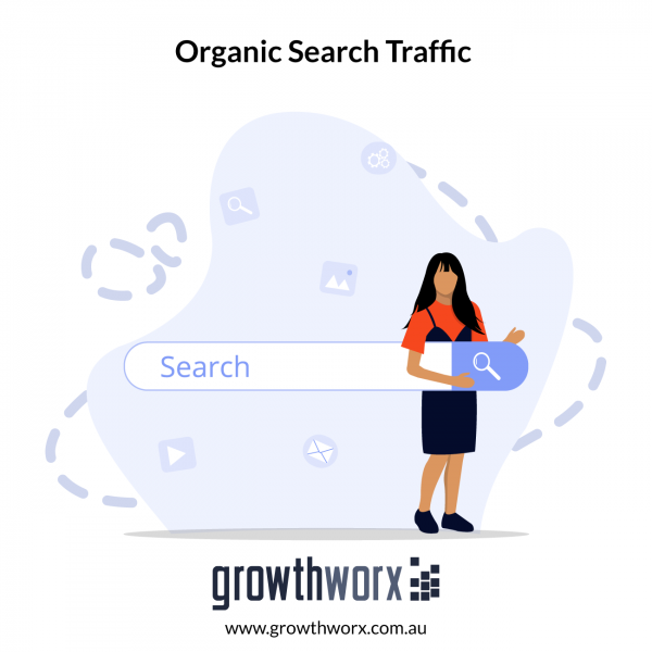 We will drive 25 days google organic search traffic using keywords 1