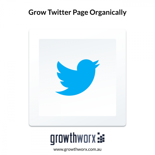 We will grow your twitter page organically 1