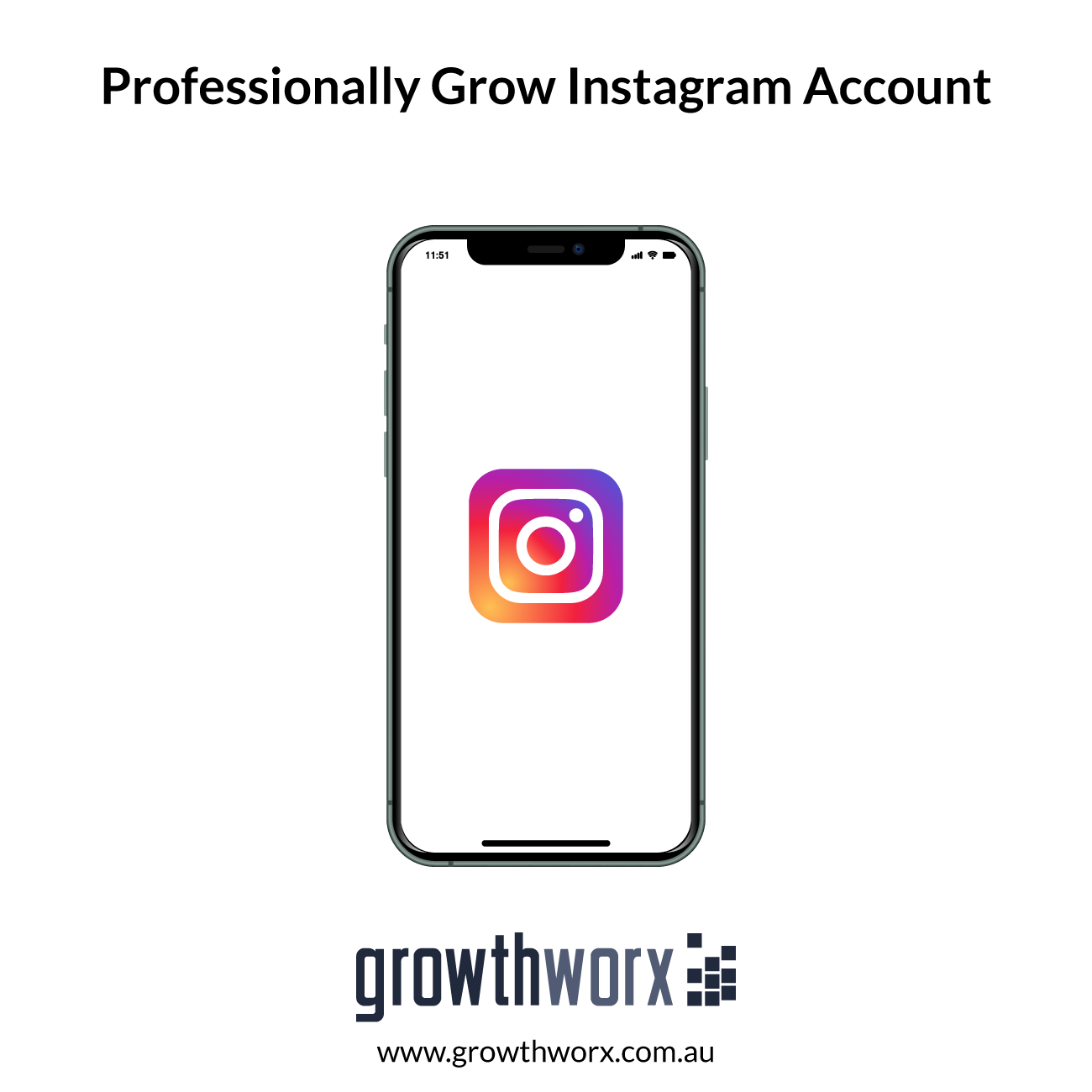 We will professionally grow your instagram account 1
