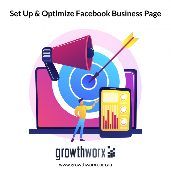 We will set up and optimize your business facebook page 1