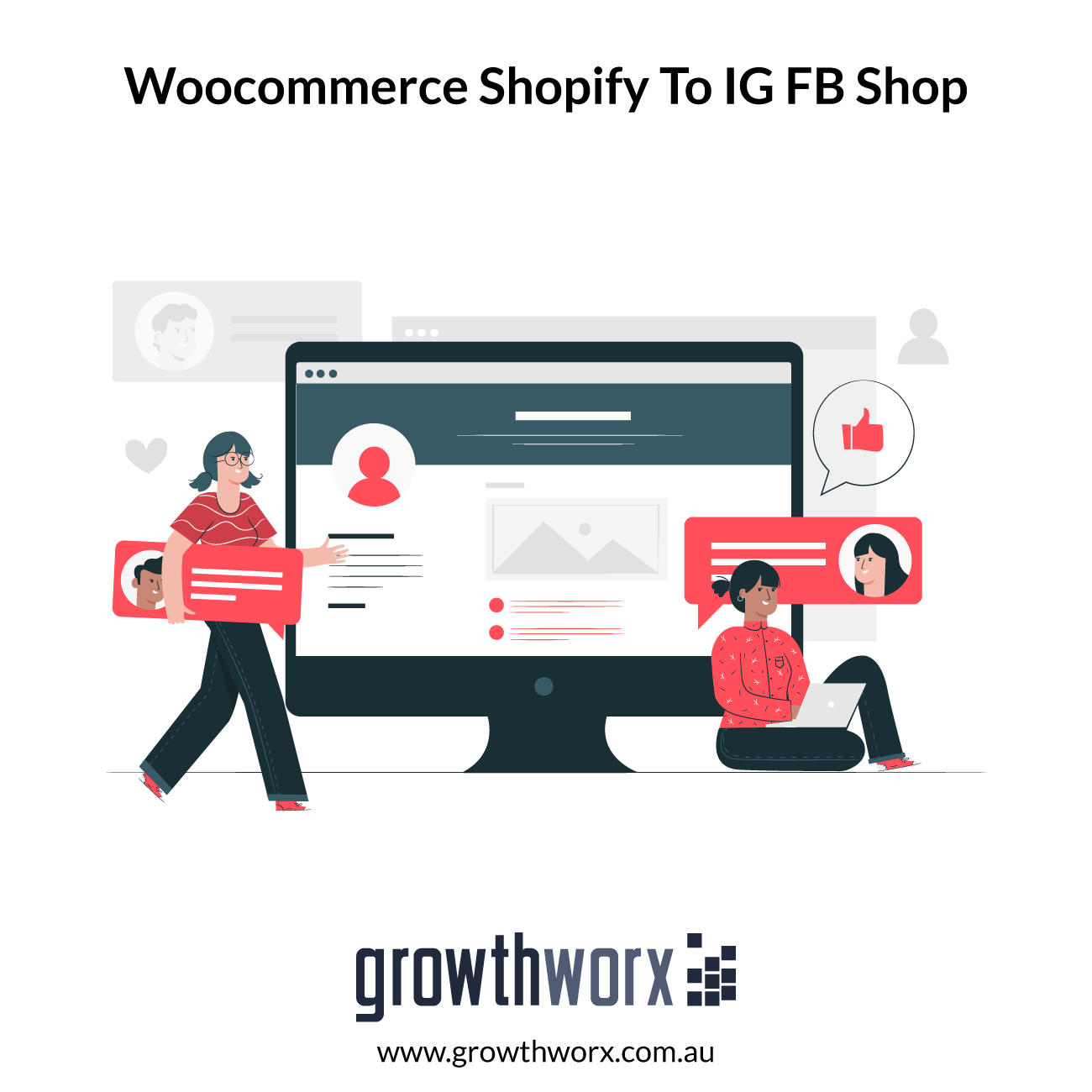 We will setup facebook and instagram shop and sync woocommerce shopify to ig fb shop 1