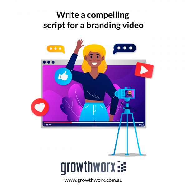 Write a compelling script for a branding video 1