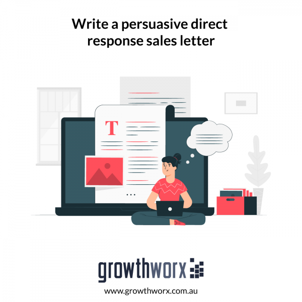 Write a persuasive direct response sales letter 1