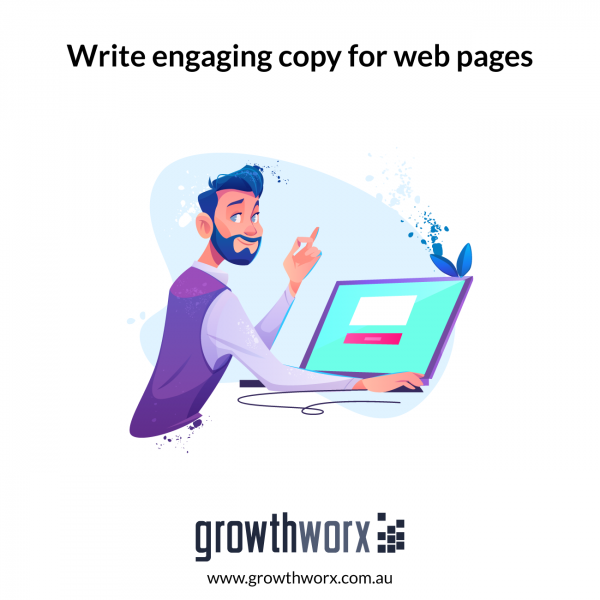 Write engaging copy for web pages 1