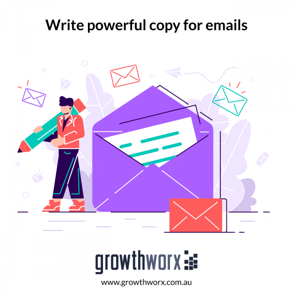 Write powerful copy for emails 1