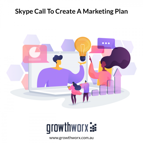 60 minutes coaching on a Skype call to create a marketing plan for your business 1