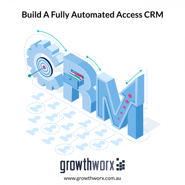 Build a fully automated Access CRM with detailed VBA, import/export, audit, permissions and branded for your business 1