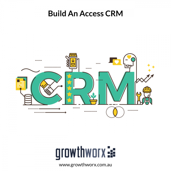 Build an Access CRM with data entry forms and tables, and more complex vba/macro functionality 1
