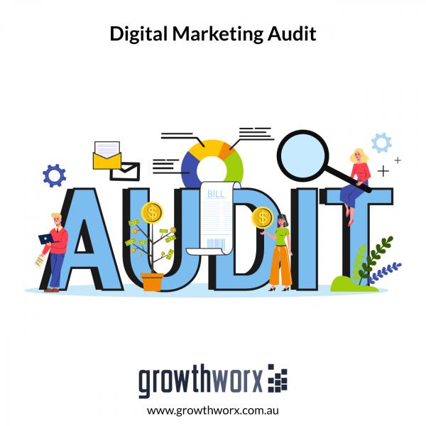 Complete a digital marketing audit 1