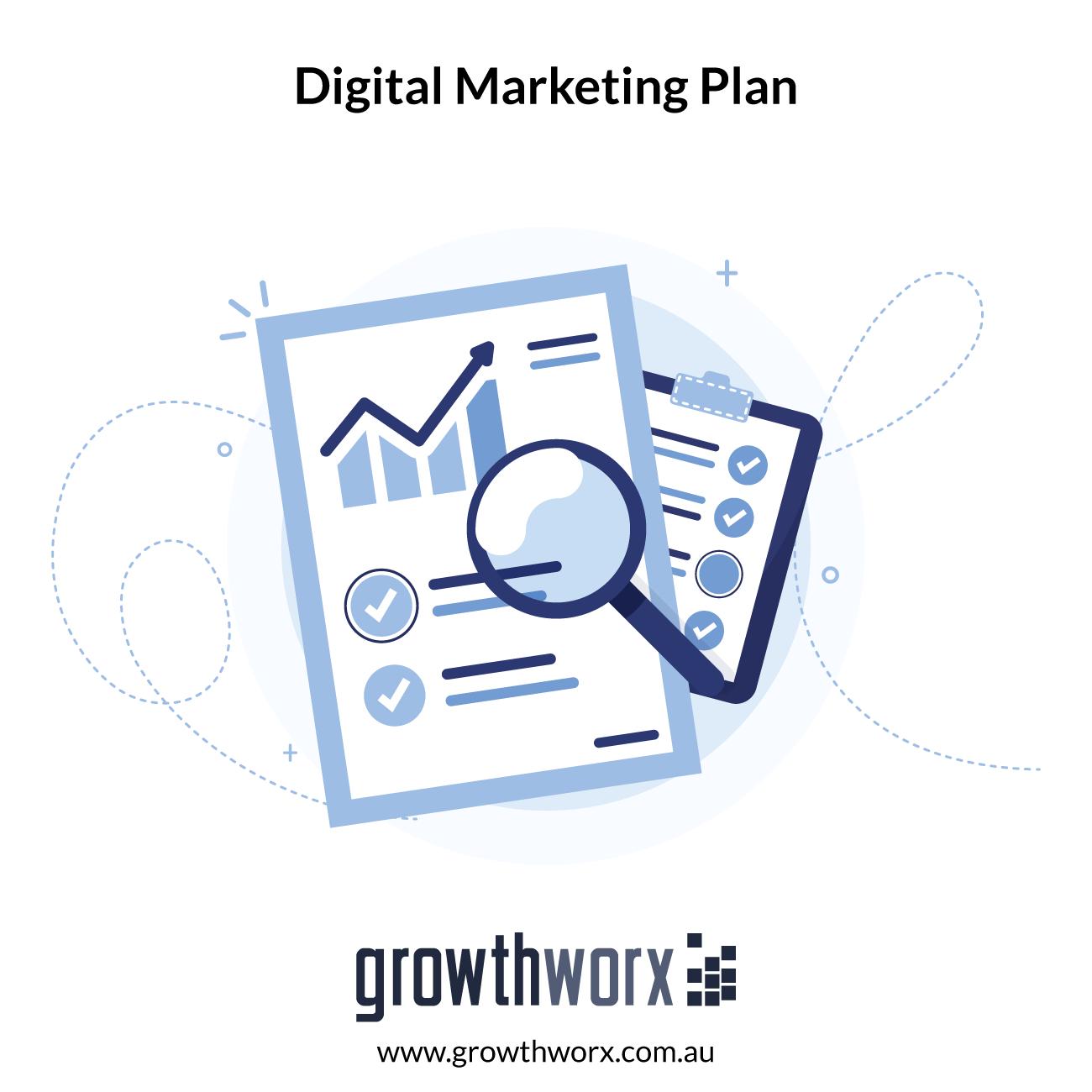 Create a basic digital marketing plan 1