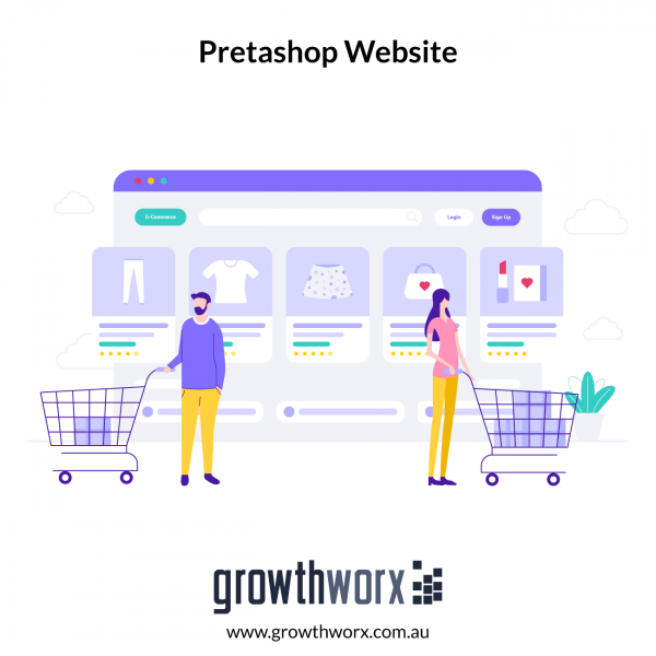 Create a customized Pretashop store with up to 10 pages 1