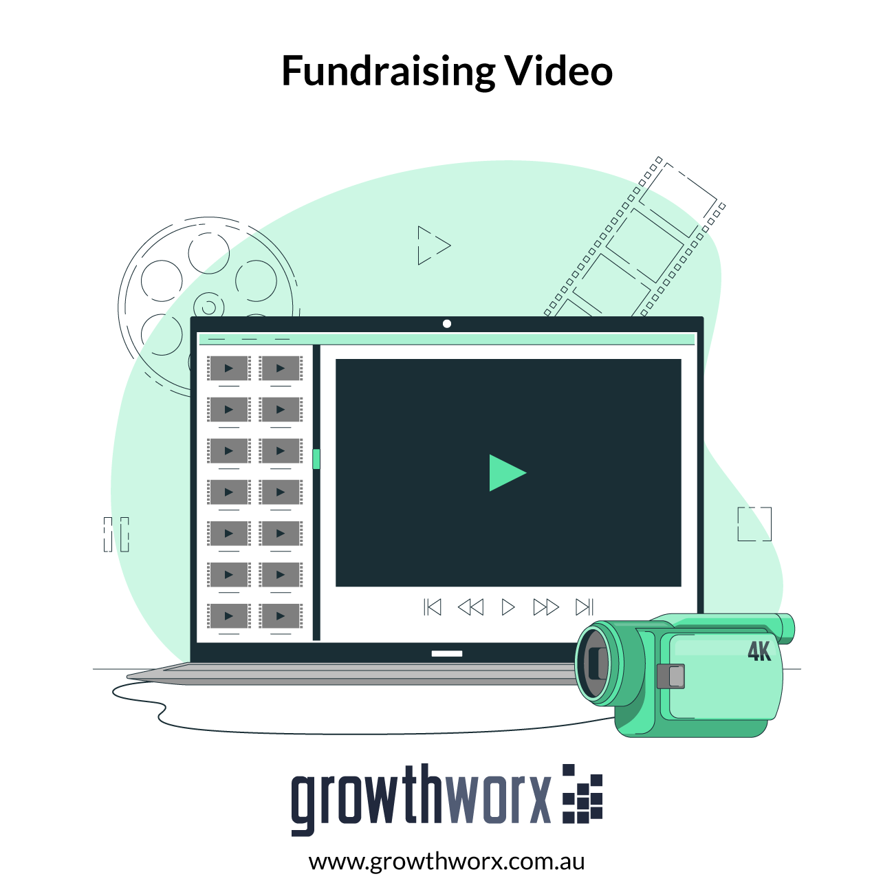 Create a persuasive crowdfunding fundraising video 1