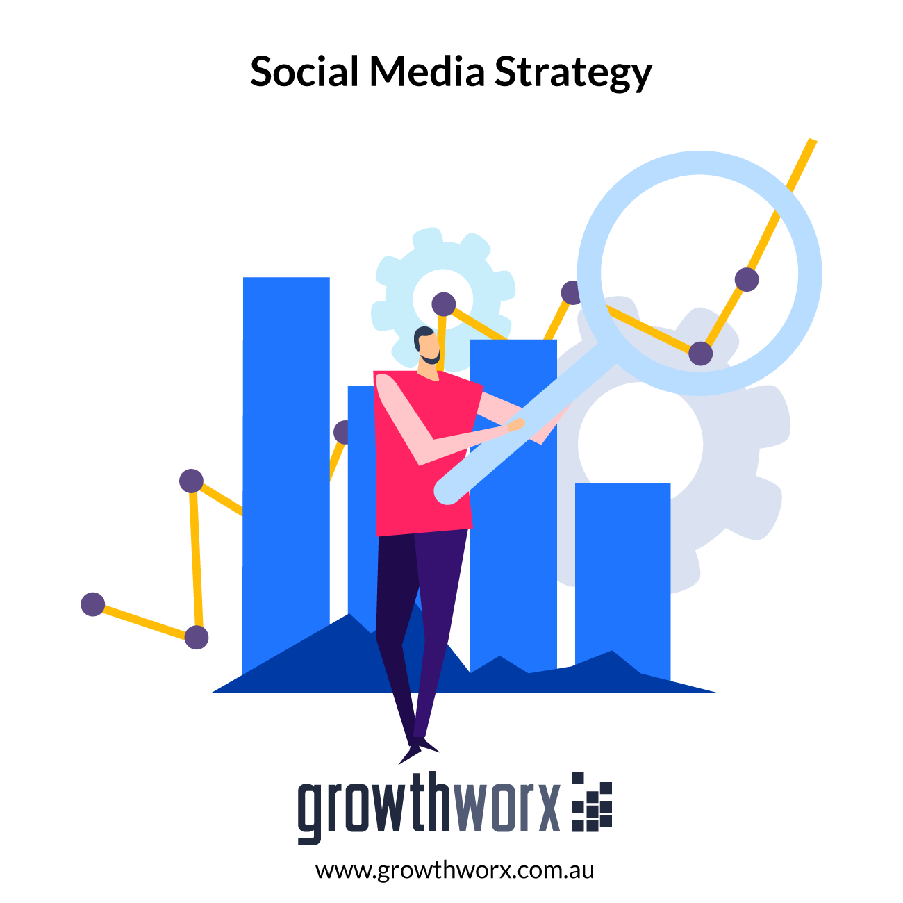 Create a professional feed social media strategy with content marketing plan 1